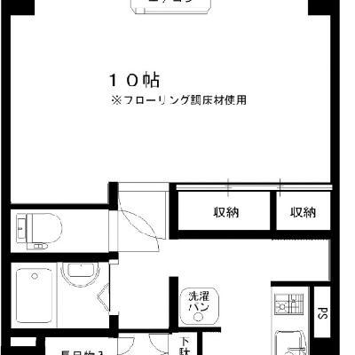 一人暮らしにぴったりなお部屋。
