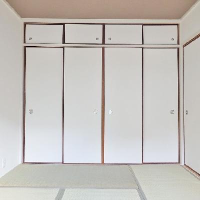 和室、ありますよ!日本人だもの畳でゴロゴロしたい!