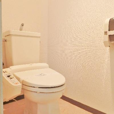 トイレは嬉しいウォシュレット!