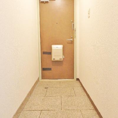 玄関はこんな感じ。※写真は前回掲載時のものです。