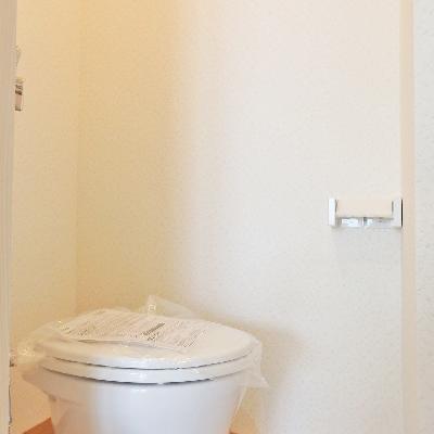 こじんまりなトイレ。