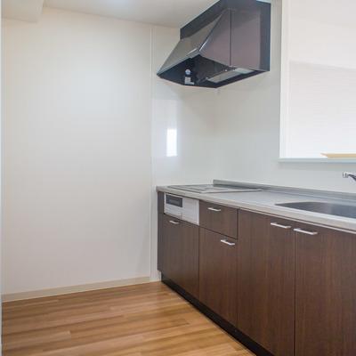 ゆったりスペースのキッチン