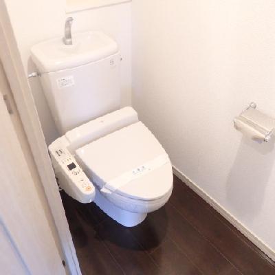 きれいなトイレです