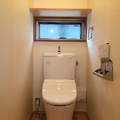 こちらは2階のトイレです