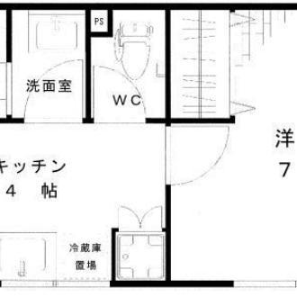 2階の角部屋です