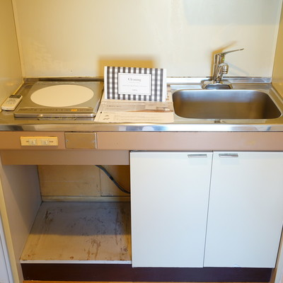 キッチンはIH1口です。※写真は前回募集時のものです