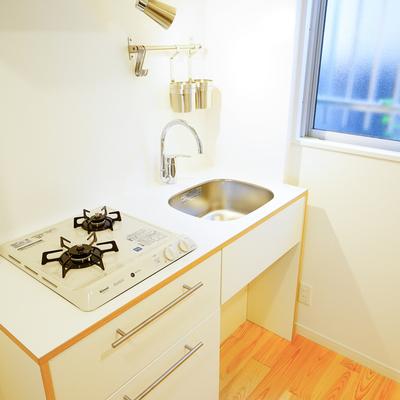キッチン、使いやすい!