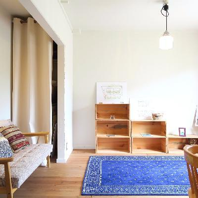 シンプルな家具がよく似合います!