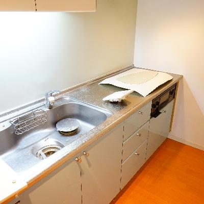キッチンはゆったり3口ガス!