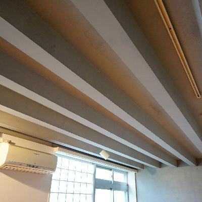 天井にはライティングレール!