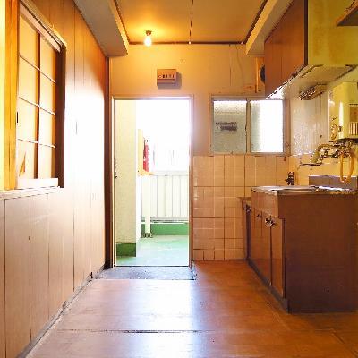 キッチン周りもゆったりと。※写真は現状