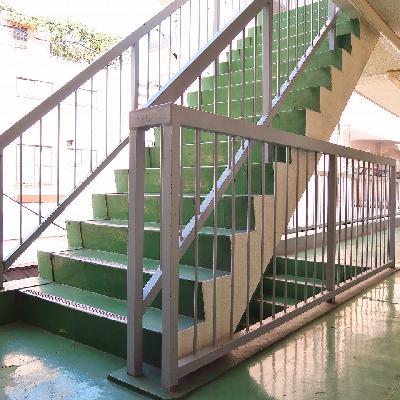 階段ですが2階なら余裕ですね!