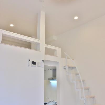 お部屋を見上げるとこんな感じ。