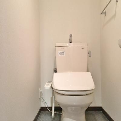 トイレもふつう。