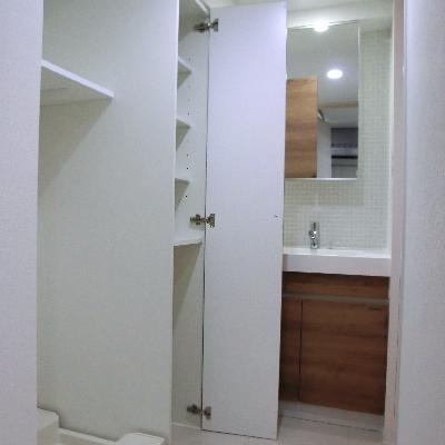 洗面所スペースの上手な使い方♪