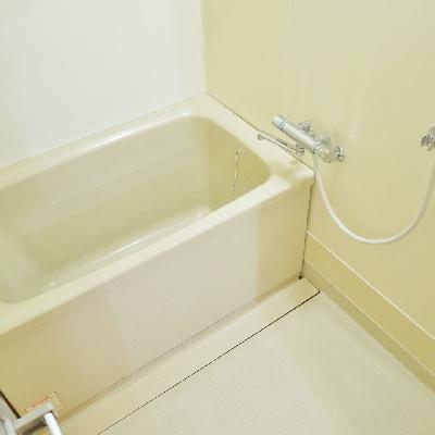 お風呂はシンプルでした。