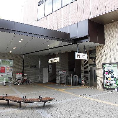 駅ビルがある永福町駅