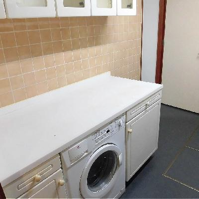 洗濯機備え付きです