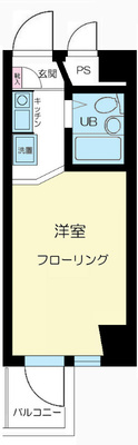 川崎11分マンション の間取り
