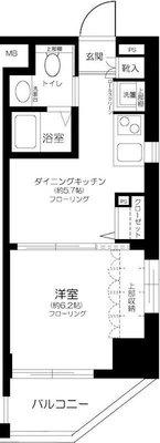エステムプラザ飯田橋タワーレジデンス の間取り