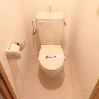 トイレも綺麗にされていて◎
