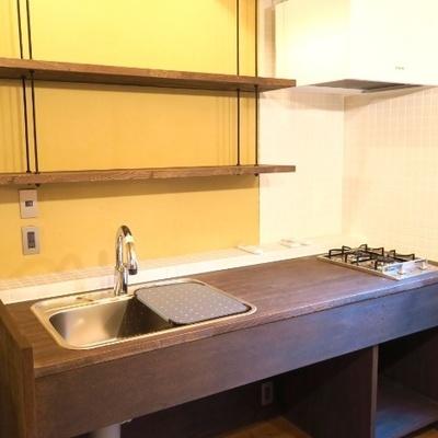 キッチンが素敵だ〜!