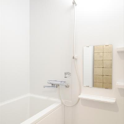 お風呂は普通でシンプル