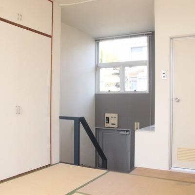 2階和室の広さは6帖あります