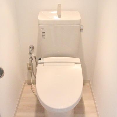 トイレにはもちろんウォシュレット