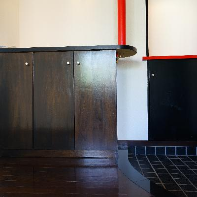玄関も凝ったデザイン♪