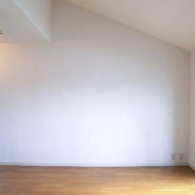 見てください!天井が高い!*写真は別のお部屋です