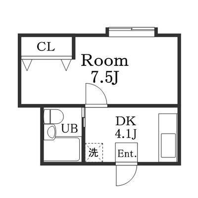 広めの室内。