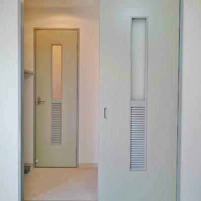 ここが脱衣所の入り口。