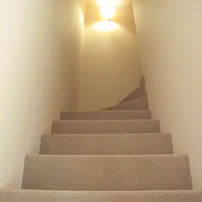 あたたかな階段。
