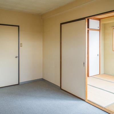 和室のお隣です。
