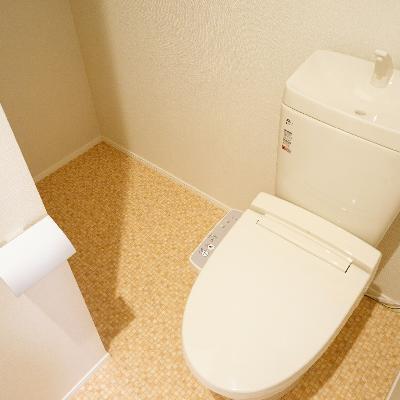 トイレ横もなかなかのスペースが!