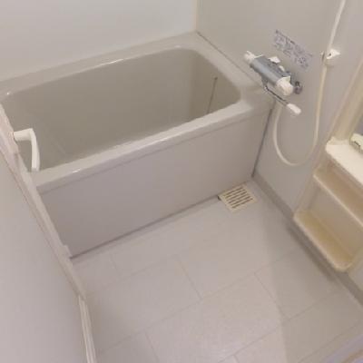 お風呂は普通。追い焚きアリ