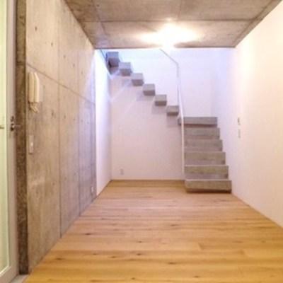 地下のお部屋です!