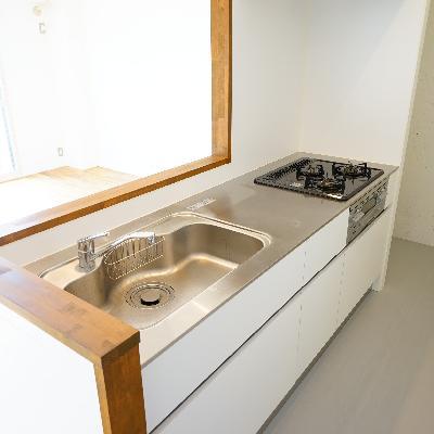 キッチンはゆったり気持ち良い空間!