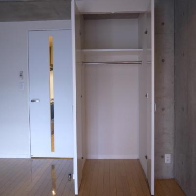 収納スペース※写真は別部屋になります。