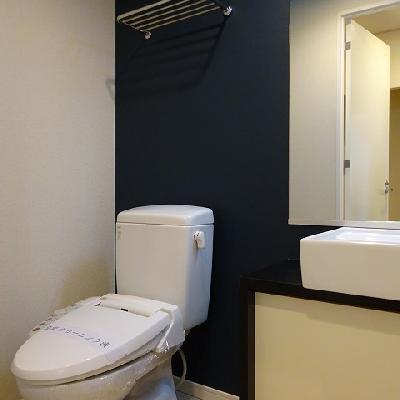 清潔感のある洗面台※写真は別部屋になります。