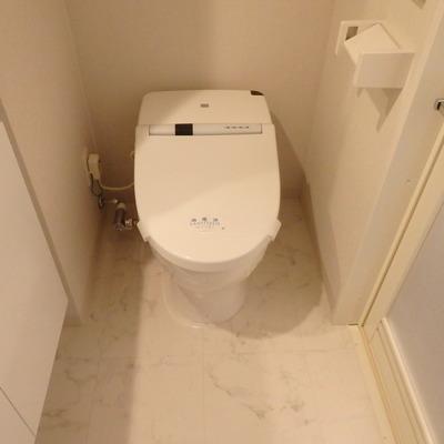 ウォシュレット付きトイレで嬉しい