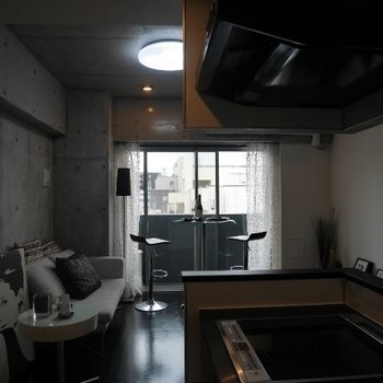 キッチンから ※写真は別部屋となります