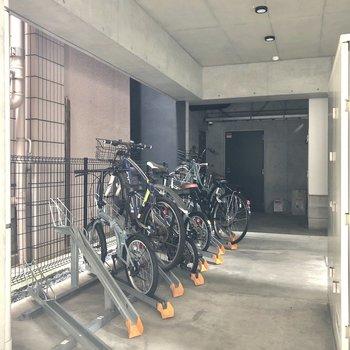 駐輪場置き場もありますよ。