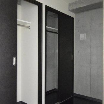 サービスルームと収納。※写真は3階の同間取り別部屋