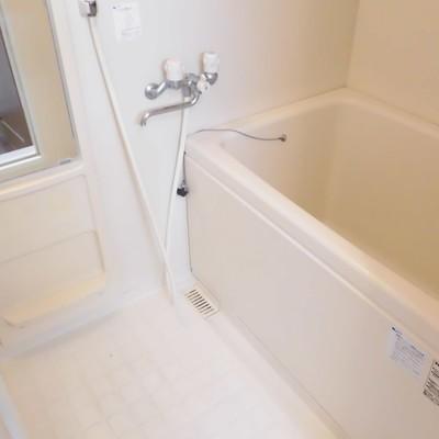 お風呂は地下1階にあります