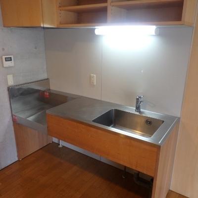 広めのキッチン、使いやすそう