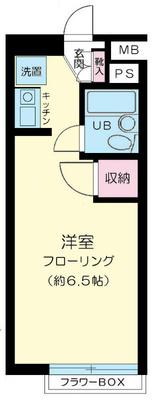 石川台8分マンション の間取り