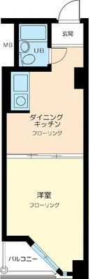 乃木坂7分マンション の間取り