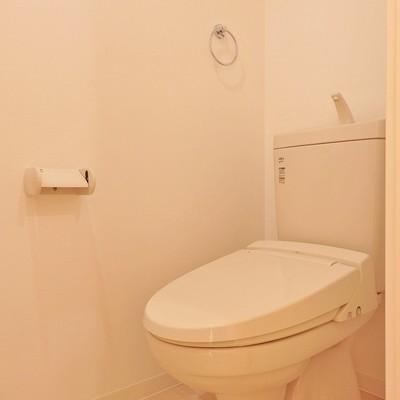 トイレも清潔感重視!